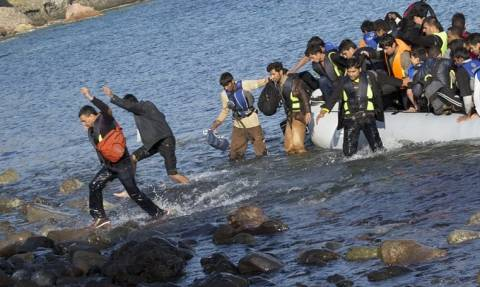 ΔΟΜ: 1.465 μετανάστες και πρόσφυγες έφτασαν στην Ελλάδα τον Μάιο