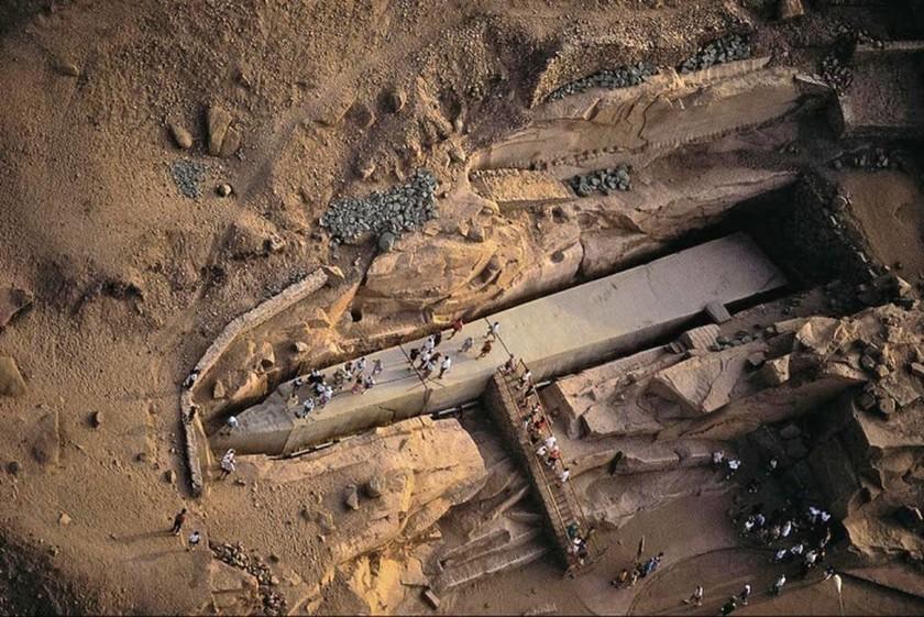 Unfinished Obelisk - Aswan, Αίγυπτος