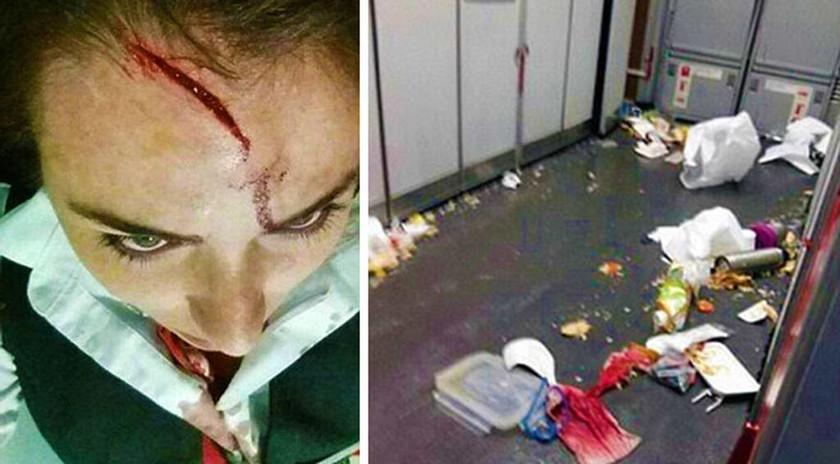 Τρόμος στον αέρα: Τραυματίες από ισχυρές αναταράξεις σε πτήση από το Λονδίνο (Pics)