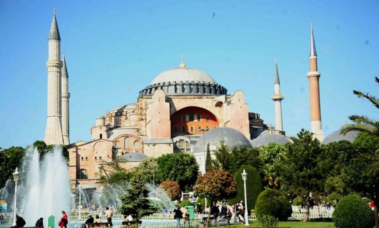 Βίντεο - πρόκληση: Οι Τούρκοι μετέτρεψαν σε τζαμί την Αγιά Σοφιά