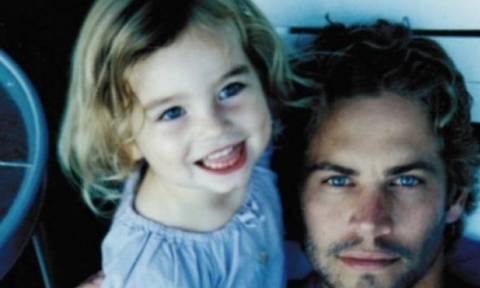 Κούκλα: Δείτε πόσο έχει μεγαλώσει η κόρη του αδικοχαμένου Paul Walker!