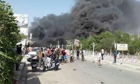 Ιράκ: Τουλάχιστον 8 νεκροί από επίθεση με παγιδευμένο αυτοκίνητο (vid)