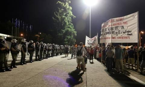 Ολονύχτια διαμαρτυρία ενάντια στις εξορύξεις χρυσού στη Χαλκιδική και το Κιλκίς
