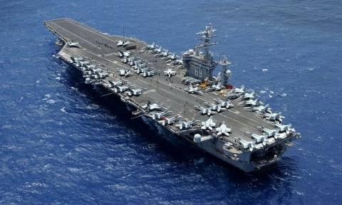 Ανεβαίνει το θερμόμετρο στη Μεσόγειο: Οι ΗΠΑ «απαντούν» στη Ρωσία με δύο αεροπλανοφόρα
