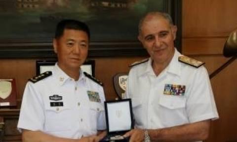 Επίσκεψη Αντιπροσωπείας Πολεμικού Ναυτικού της Κίνας στο ΓΕΝ και στο Αρχηγείο Στόλου