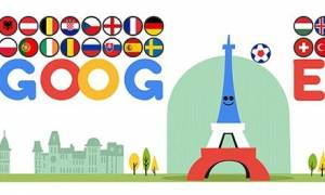 Euro 2016: H Google γιορτάζει την έναρξη του Euro με ένα ποδοσφαιρικό Doodle