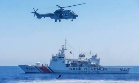 Άσκηση τουρκικής ακτοφυλακής στην Αμμόχωστο