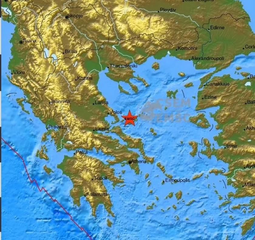 Έκτακτο: Σεισμός ΤΩΡΑ στις Σποράδες