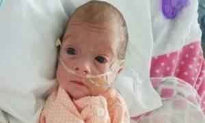 Της ζήτησαν να τερματίσει την εγκυμοσύνη της και τώρα το πρόωρο μωρό της παλεύει για να ζήσει!