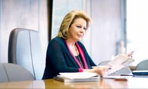 Επίτιμη διδάκτορας της σχολής Οργάνωσης και Διοίκησης Επιχειρήσεων η Λούκα Κατσέλη