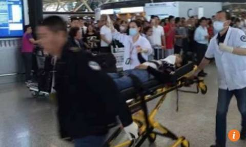 Κίνα: Έκρηξη στο αεροδρόμιο της Σαγκάης (Pics)
