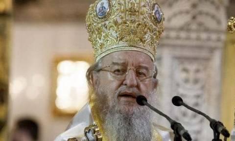 Μητροπολίτης Θεσσαλονίκης Άνθιμος: Ο Επίσκοπος δεν είναι πολιτικό πρόσωπο