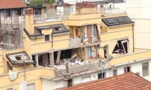 Ιταλία: Τρεις νεκροί από έκρηξη και κατάρρευση πολυκατοικίας στο Μιλάνο (Pics & Vid)