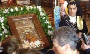 Στη Νίκαια η εικόνα της Παναγίας Σουμελά