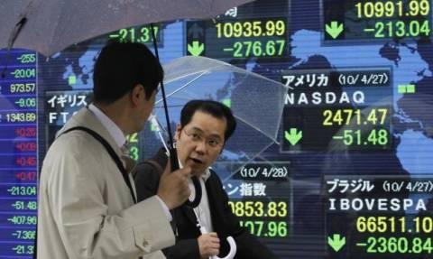 «Βουτιά» στο χρηματιστήριο του Τόκιο υπό το φόβο του Brexit και της ισλαμιστικής βίας
