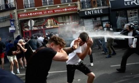 Euro 2016: Νέα επεισόδια με πρωταγωνιστές Βρετανούς χούλιγκανς στη Λιλ (videos)