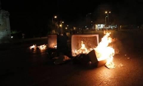 Μυτιλήνη: Επεισόδια με μετανάστες που έκαψαν λυόμενο