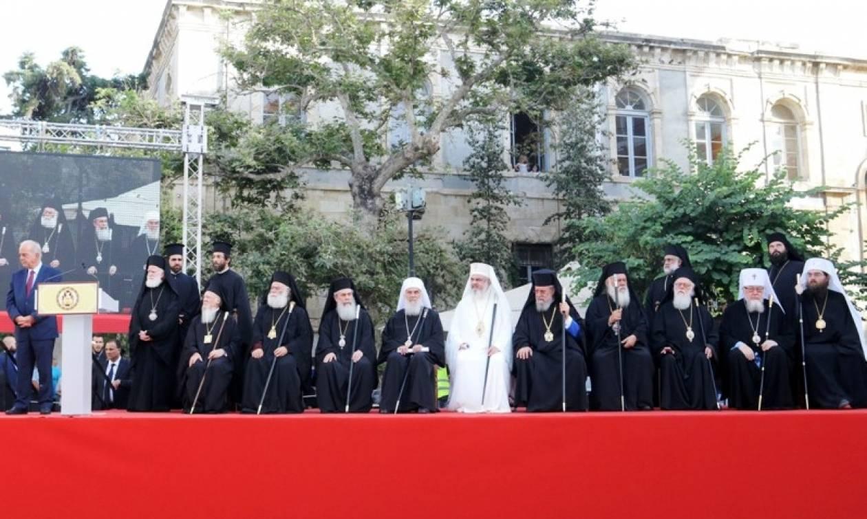 Πατριάρχης Βαρθολομαίος: Η Αγία και Μεγάλη σύνοδος θα δώσει το μήνυμα της ενότητας (pics)