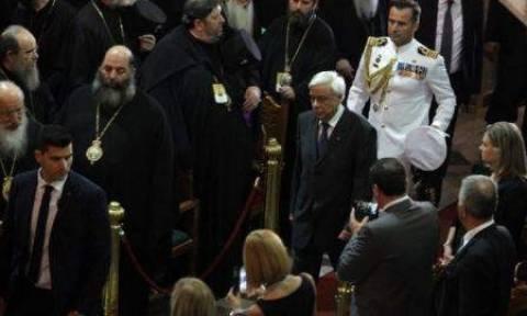 Ηράκλειο: Λειτουργία Πατριάρχη Βαρθολομαίου παρουσία Προκόπη Παυλόπουλου