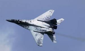 Μαχητικό αεροσκάφος ρωσικής κατασκευής συνετρίβη στη Συρία