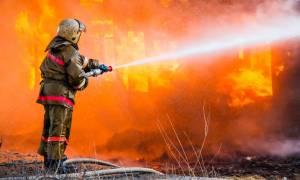 На Кипре уже третий день бушует пожар