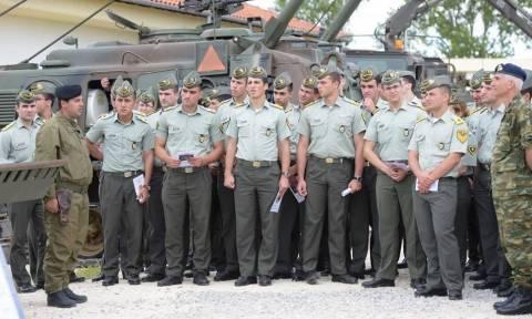 Οι Ευέλπιδες στην 30η  Μηχανοκίνητη Ταξιαρχία στο Λαγό Διδυμοτείχου (pics)