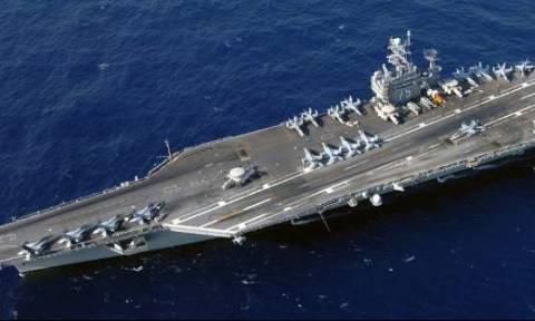 Στην Κρήτη το «τέρας» του Αμερικανικού Πολεμικού Ναυτικού – Δείτε το (video)