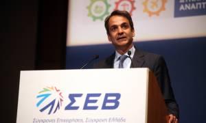 Μητσοτάκης: Η απόλυτη προτεραιότητα μίας κυβέρνησης της ΝΔ θα είναι νέες δουλειές