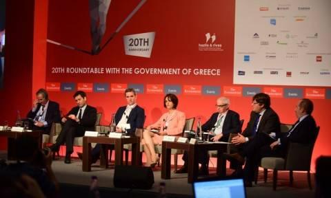 Συνέδριο Economist: «Καβγάς» Χουλιαράκη - Τζιαμαρόλι για τα πρωτογενή πλεονάσματα
