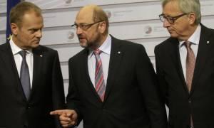 Αποτελέσματα Βrexit: Σχέδιο έκτακτης ανάγκης στην ΕΕ - Συναντώνται Τουσκ, Γιούνκερ, Σουλτς και Ρούτε