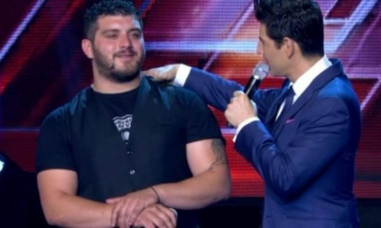 X Factor: Το μήνυμα που έστειλε ο Πόντιος για την αποχώρησή του (photo)
