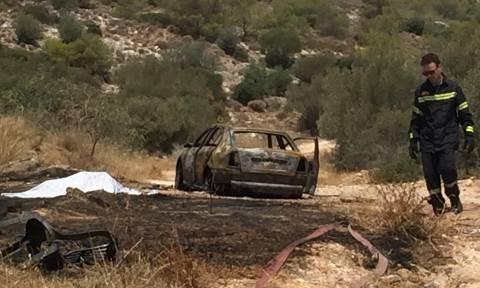 Βάρκιζα: Ανατριχιαστικές εικόνες από το σημείο που βρέθηκε απανθρακωμένο πτώμα (video)