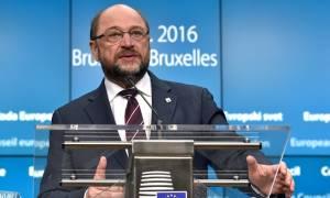 Σύνοδος Κορυφής - Σουλτς: Η παρατεταμένη αβεβαιότητα δεν ωφελεί κανέναν