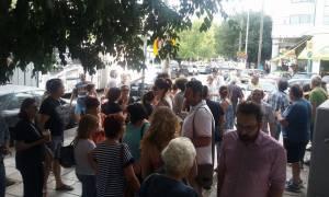 Θεσσαλονίκη: Συγκέντρωση διαμαρτυρίας εργαζόμενων στον «Μαρινόπουλο» (pics)