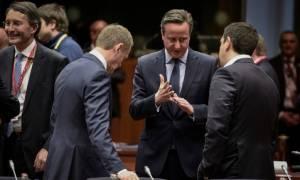 Σύνοδος Κορυφής: Ο Κάμερον τούς είπε «bye bye», αλλά Brexit από... Σεπτέμβριο!