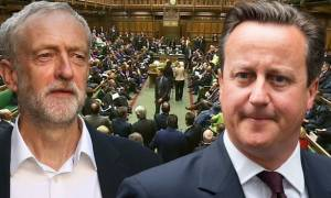 Χαμός στη βρετανική βουλή - Κάμερον σε Κόρμπιν: Για όνομα του Θεού, φύγε!