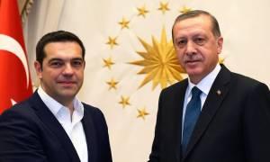 Τηλεφωνική επικοινωνία Τσίπρα - Ερντογάν