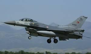 Νέες υπερπτήσεις οπλισμένων τουρκικών μαχητικών πάνω από το Αιγαίο