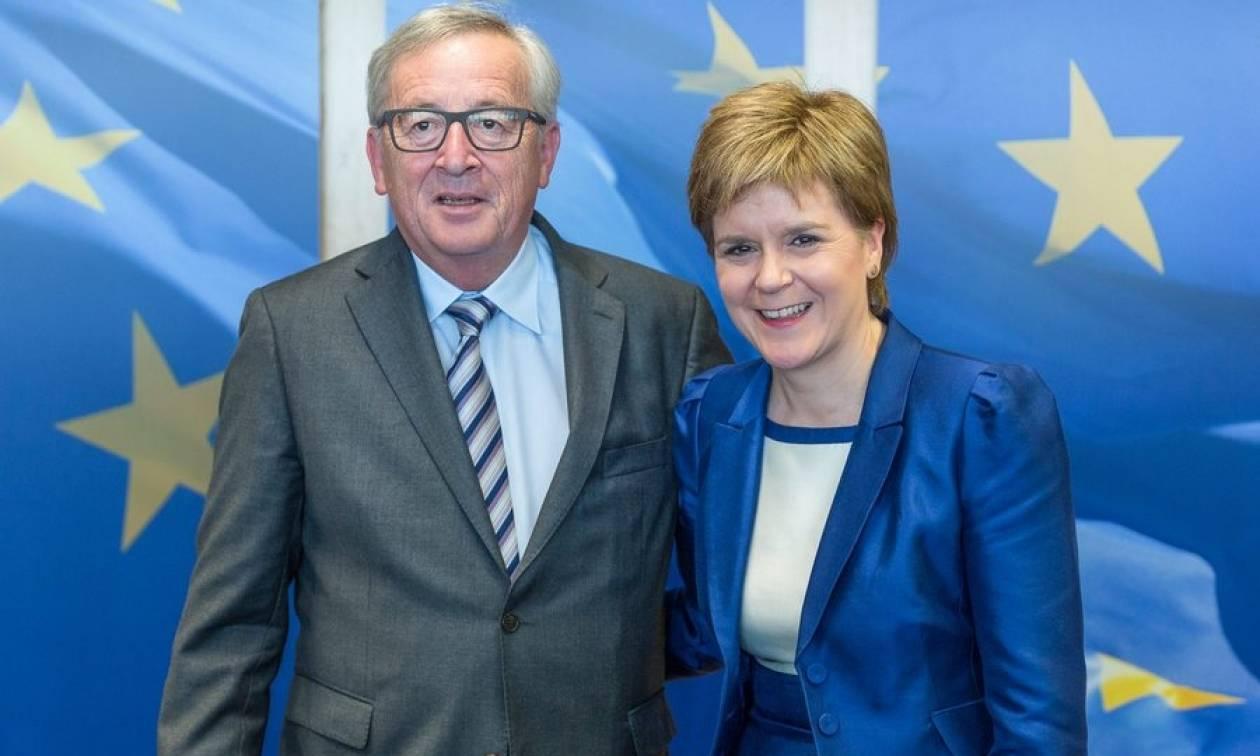Brexit: «Ενθαρρυμένη» η Σκωτία για την προοπτική παραμονής της στην ΕΕ (Vid)