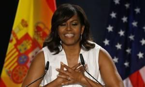 Η Μισέλ Ομπάμα ελπίζει ότι μια γυναίκα θα αναλάβει σύντομα την προεδρία των ΗΠΑ