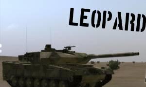 Ο στρατός παρέλαβε βλήματα για άρματα LEOPARD 2