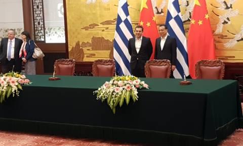 Πεκίνο - Τσίπρας: Συμφωνίες made in China και χωρίς γραβάτα (pics)