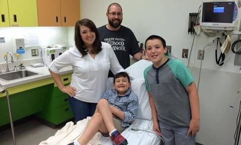 Συγκινητικό βίντεο: Πώς αντέδρασε 7χρονος όταν του είπαν πως νίκησε τον καρκίνο