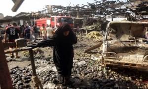 Οργή στη Βαγδάτη μετά το μακελειό με 200 νεκρούς την ευθύνη για το οποίο ανέλαβε το ΙΚ