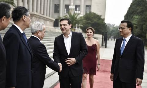 Πεκίνο - Τσίπρας: Νέες τεχνολογίες και τουρισμός στο επίκεντρο των συμφωνιών Ελλάδας - Κίνας