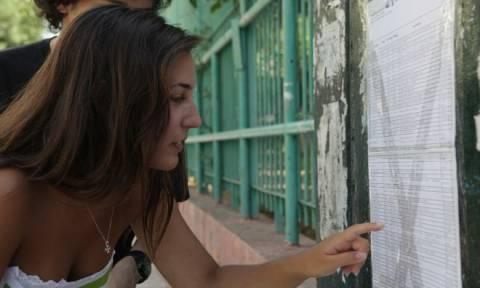 Βάσεις 2016: «Πέφτουν» οι Παιδαγωγικές σχολές - Στα «ύψη» οι Ιατρικές