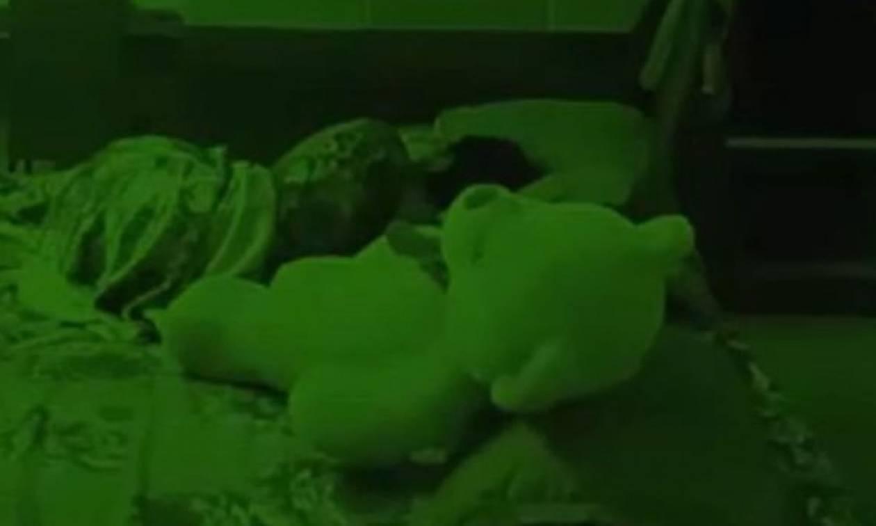 Το λούτρινο αρκουδάκι του Διαβόλου: Δείτε τι ανατριχιαστικό έκανε σε παιδάκι που κοιμόταν! (video)