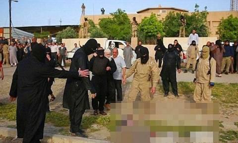 Απίστευτες φρικαλεότητες του ISIS: Έβρασαν ζωντανούς λιποτάκτες και αποκεφάλισαν άπιστο (pics+vid)