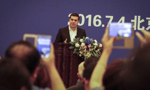 Cosco - Τσίπρας: Εκεί που έβριζε, τώρα παίρνει επενδύσεις άνω του μισού δισ. ευρώ