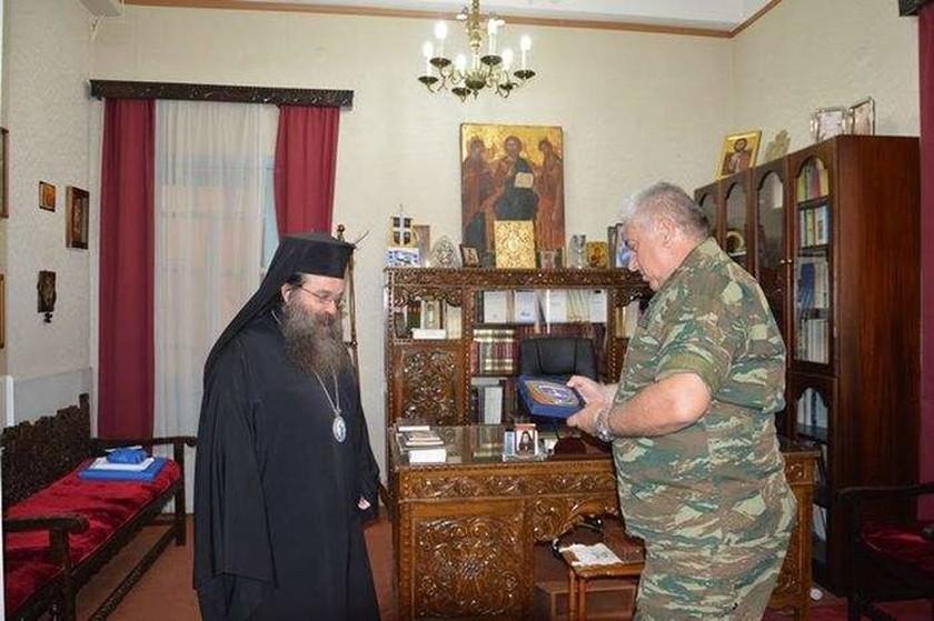Στον Μητροπολίτη Χίου ο Διοικητής της ΑΣΔΕΝ (pics)